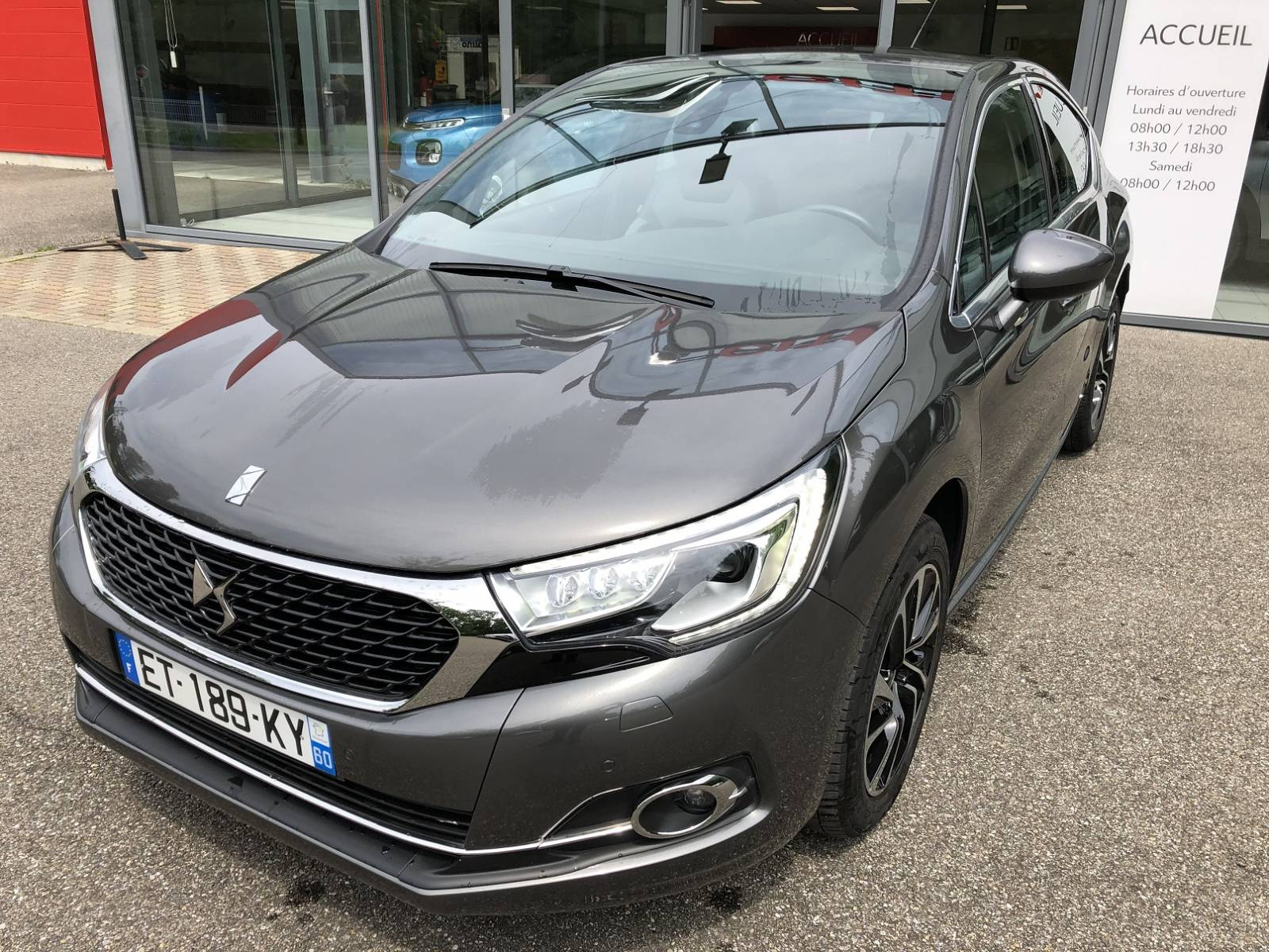 Voiture d'occasion, DS4 BlueHDI 120 SO CHIC, Boite ...